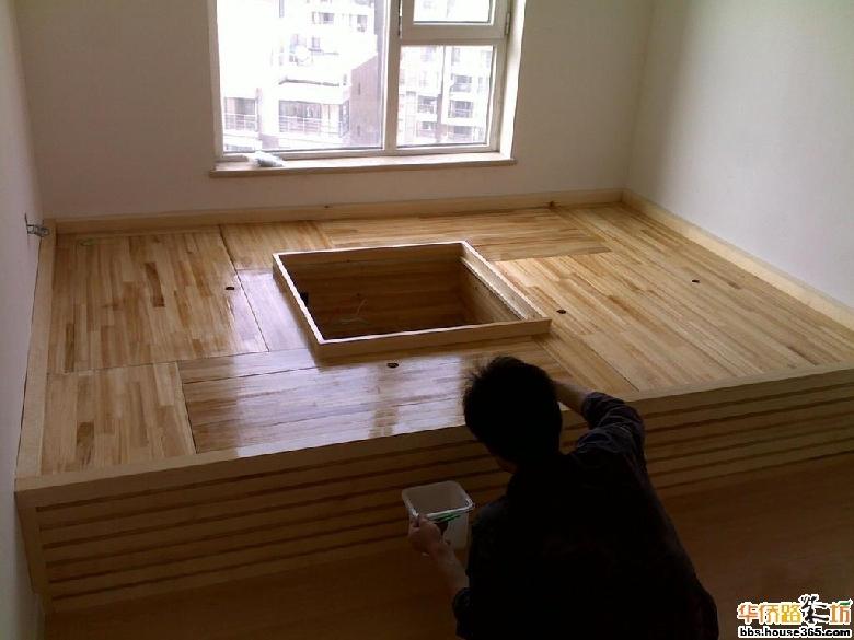木质地台-榻榻米制作全过程