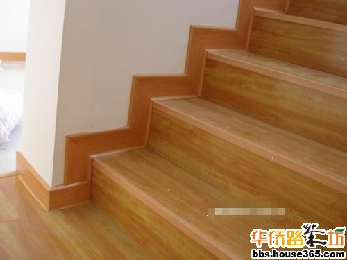 复合地板铺楼梯
