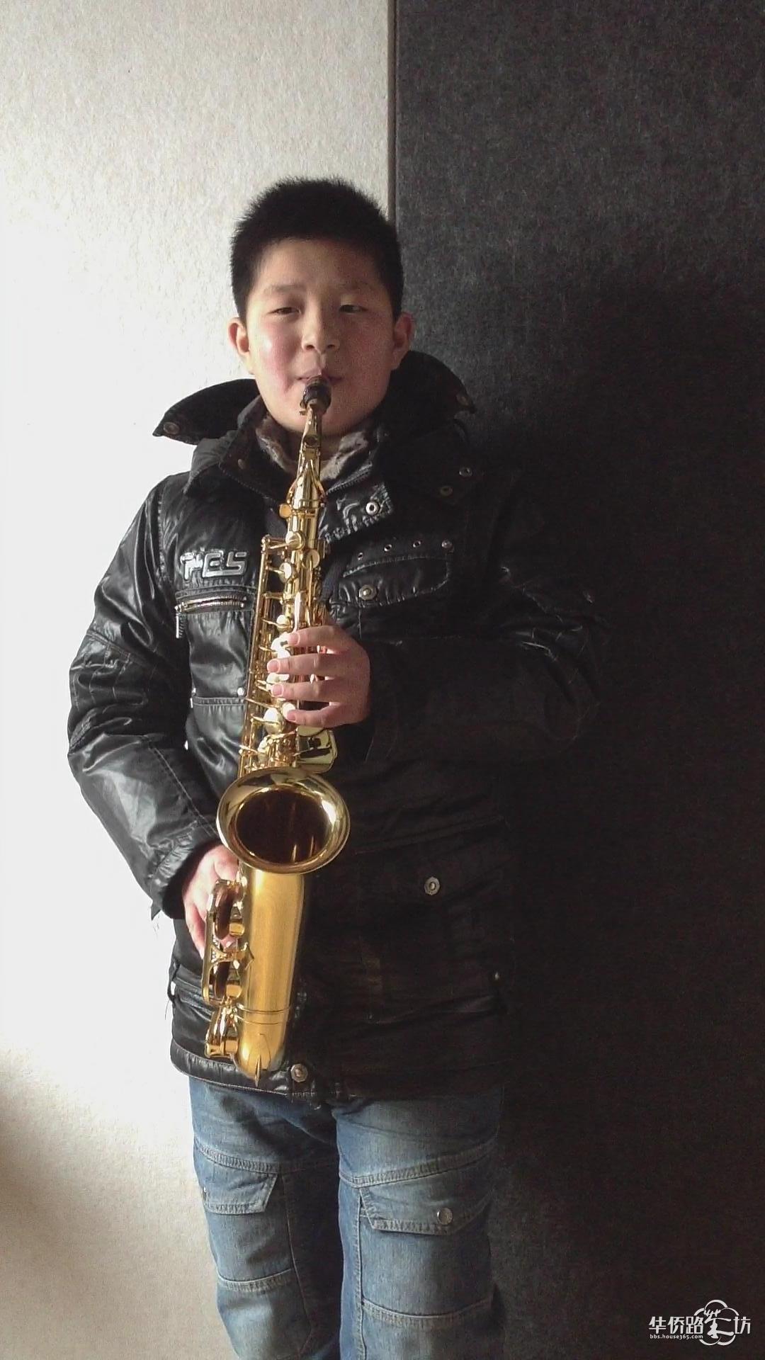 saxphone boy-男孩,萨克斯(一个明发妈妈的孩子学乐器的随笔)