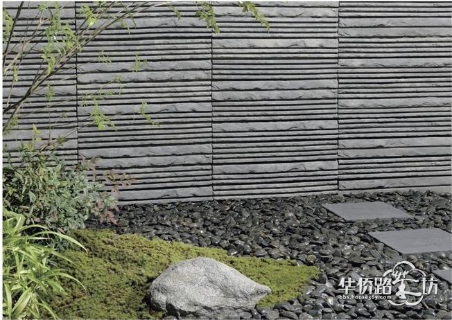 景观材料:别墅景观;园林景观;花园;汀步;花池;景墙