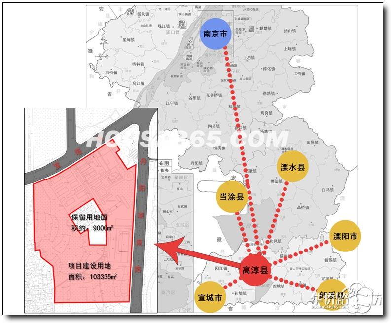 溧阳县级市, 西接安徽宣城地级市下的宣洲区和郎溪县