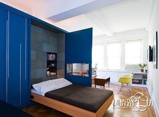 客廳墻壁放書架裝修效果圖簡約