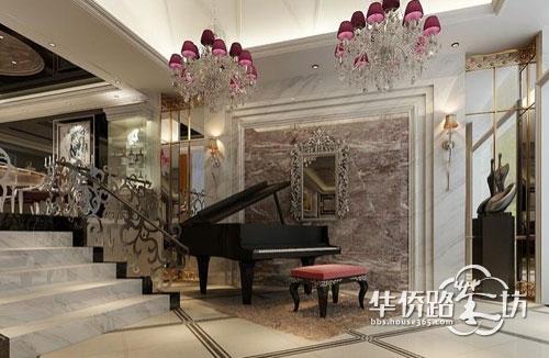 别墅大厅功能规划:打造一间私人豪华音乐厅