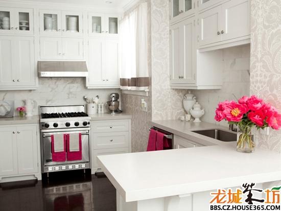 開放式儲物柜 廚房設計
