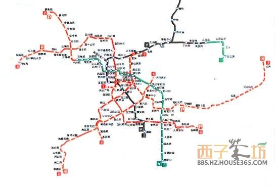 2017青岛地铁路线图