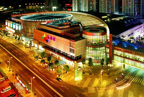 杭州大剧院,洲际酒店等,另外有砂之船国际生活广场,华润万象城,来福士