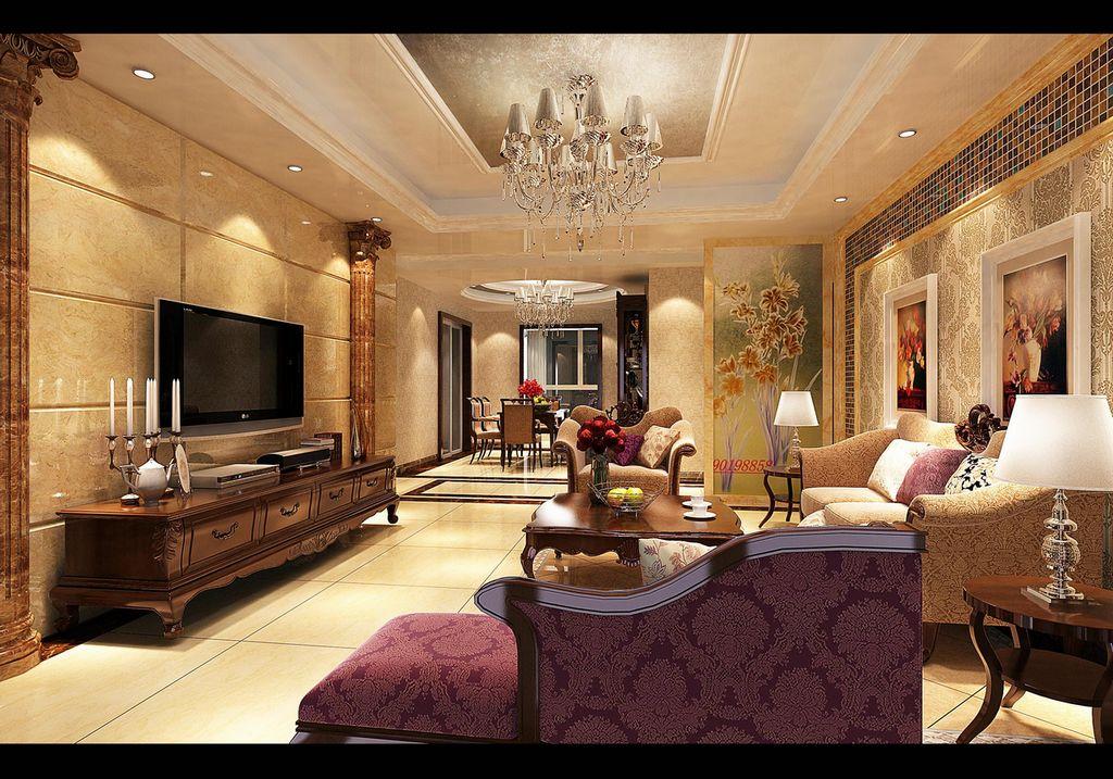 装修装饰案例_室内装修设计效果图 装修案例图片-365