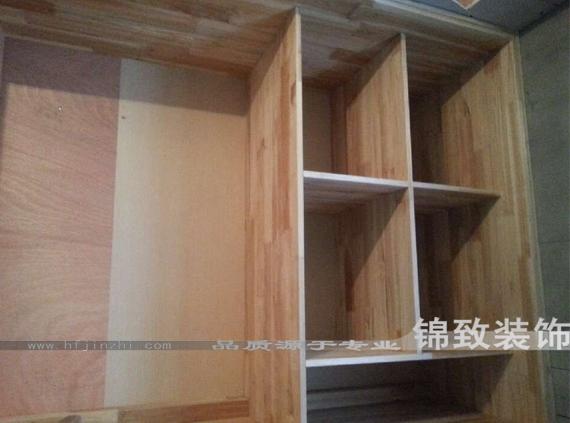 衣柜金裕森e0级实木集成板做骨架