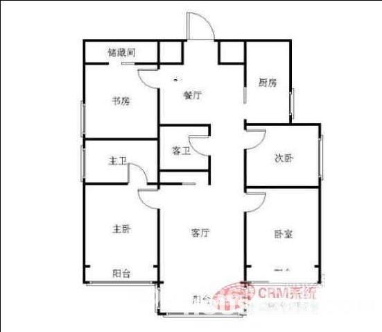 120平方房子电路图