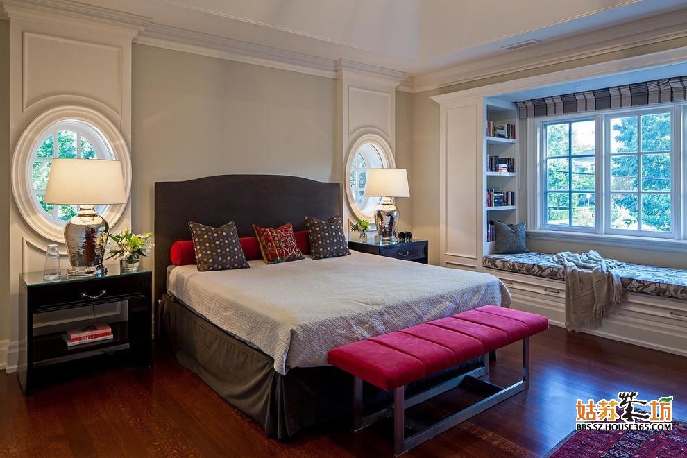 多款飘窗卧室装修效果图
