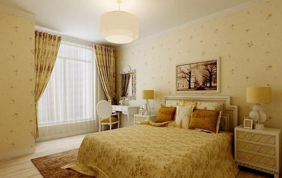 > 8图欣赏田园风格的卧室装修 给你一个舒适的家