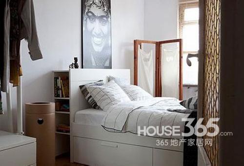 小户型室内装修 12款多功能卧室化解空间尴尬