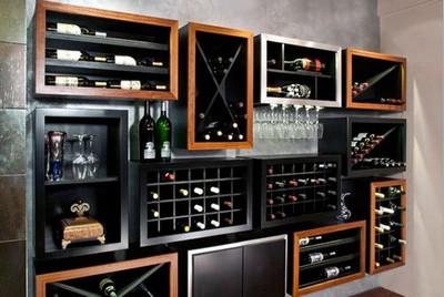 酒吧装修风格 家庭十款藏酒空间巧设计(组图)-365