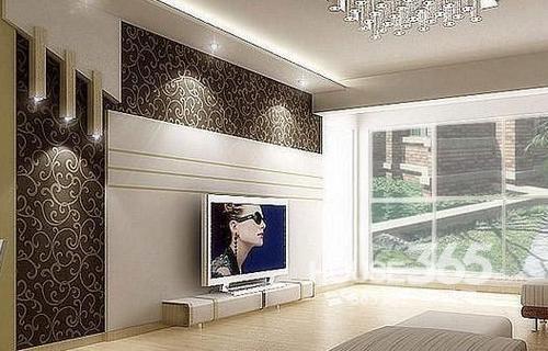壁纸电视墙