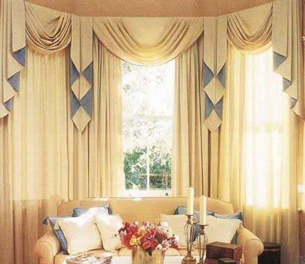 窗帘店面装修设计 简约风格为生活增加色彩(图)-365