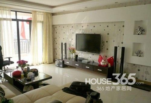 客厅装修效果图欣赏 14款现代风情打造时尚空间-365