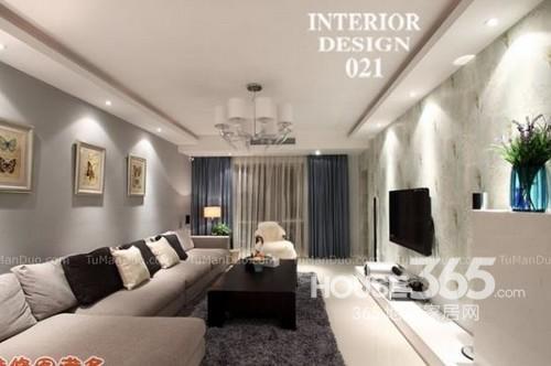 客厅装修效果图欣赏 14款现代风情打造时尚空间