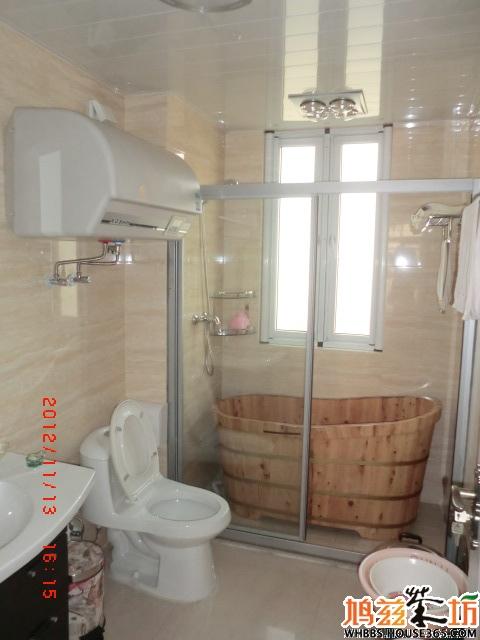 我家 热水器/我家的主卧室是预留了水管和电源的,就是给你装电热水器的,...