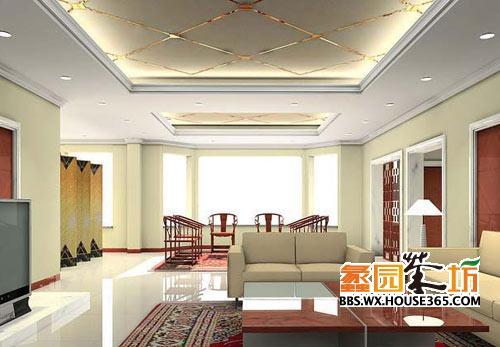 客廳吊頂裝修效果圖 裝修風格不同