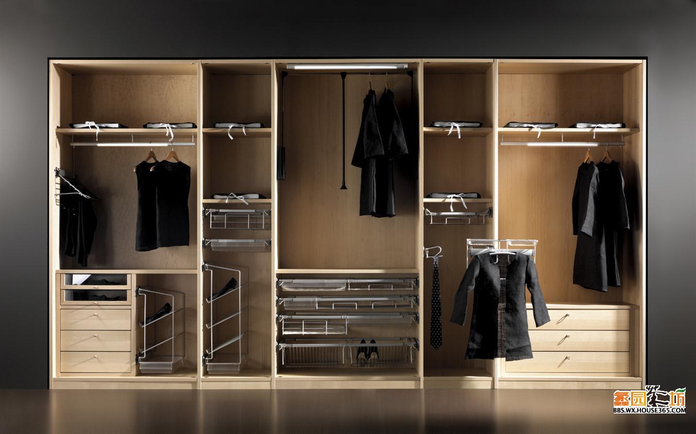木头布衣柜组装步骤