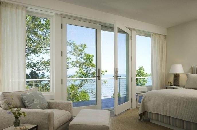 卧室推拉门,隔断卧室和阳台