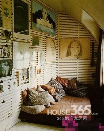 迷你空間 5平米臥室裝修設計圖欣賞