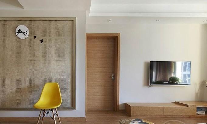 入户玄关装修效果图:日式舒适的玄关设计,感觉很安静吧.